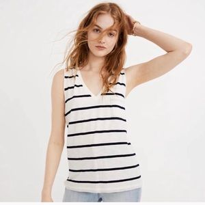 Madewell | Whisper Cotton Vneck